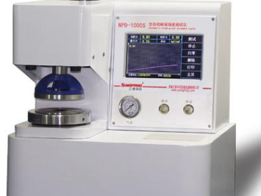 Full-Automatic Bursting Strength Tester  NPD-1000S