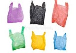 Monitoring method for impact resistance of plastic shopping bags