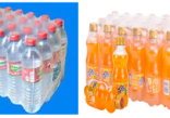 How to test the shrinkage properties of shrink film used for bottled water?
